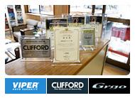 ライジングはバイパー、クリフォード、ゴルゴ、カーセキュリティの正規取扱店です。お気軽にご相談ください。
